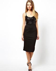 ASOS Sequin Top Cami Dress