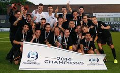 One goal in the 3rd minute was enough to secure the 2014 NPL title for MetroStars SC of Adelaide against Bonnyrigg White Eagles yesterday. The goalscorer was Fabien Barbiero. 05.10.14