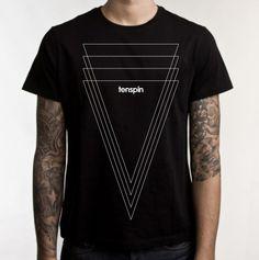 Camiseta Exclusiva e Estilosa Tenspin.