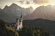 The Mad King's Castle by Kilian Schönberger on 500px