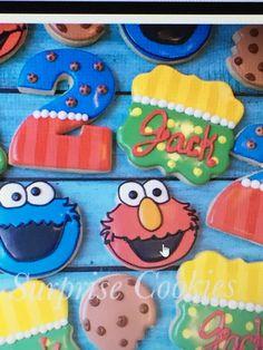 Sweet surprise cookies Sesame Street Cookies, Sugar, Sweet, Desserts, Food, Candy, Tailgate Desserts, Deserts, Essen