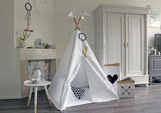 Kids Play Teepee  Tipi  Play Tent  MIDI size  Pure by MoozleTeepee