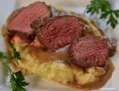 Beef Petite Shoulder with Pan Gravy - Small Town Woman Cooking and Entertaining