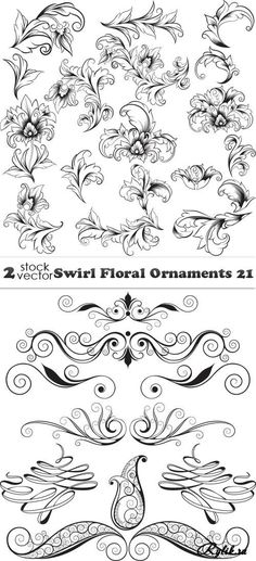 Awesome Most Popular Embroidery Patterns Ideas. Most Popular Embroidery Patterns Ideas. Stencils, Stencil Art, Stencil Patterns, Embroidery Patterns, Pyrography, Vector Graphics, Swirls, Line Art, Design Elements