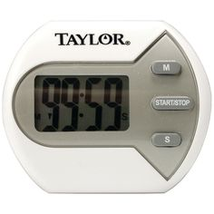 Taylor Digital Timer One of the most useful tools in the kitchen is a timer. Taylor offers a variety of designs and features to meet your needs. Did you also know timers are great for uses outside the kitchen? Use a timer for family games timing hair treatments or even childrens time outs! #mycustommade