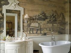 Murals, Chinoiserie and other magnificent wall treatments..... - The Enchanted Home