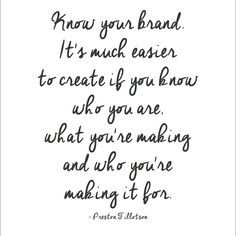 The foundation of a personal brand is not a fancy website or logo. It is knowing who you are {your core values, your belief system} and knowing who you are meant to serve {your target market}. When you have clarity in those areas you will be able to effectively market what you do {your products, services}. People need to have an emotional connection with YOU in order to open their hearts and wallets to do business with you ☂