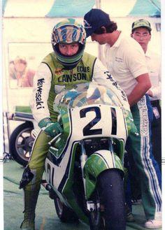 Steady Eddie in team green.