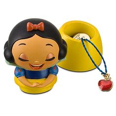 Snow White figure with charm necklace. Adorable!