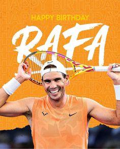 Rafael Nadal, Tennis Players, Happy Birthday, Movie Posters, Movies, Happy Brithday, Films, Urari La Multi Ani, Film Poster