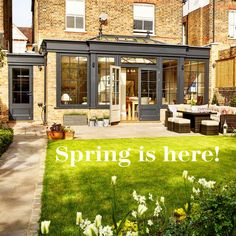 """""""Spring is the time of plans and projects"""" – Leo Tolstoy #quote #quoteoftheday #spring #westburygardenrooms #garden #gardenroom #sunshine"""