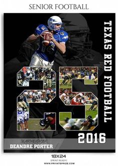 Texas Red Sports - Enliven Effects - Photography Photoshop Template Football Banquet, Sport Football, Football Pics, Senior Football Gifts, Football Program, Football Info, Football Crafts, Football Quotes, Soccer Pics