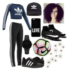 """""""✨"""" by brianabeckette on Polyvore featuring adidas, adidas Originals, Givenchy, CLUSE, NIKE and Global Views"""