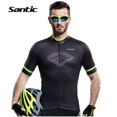 39.23$  Buy now - http://alimml.shopchina.info/go.php?t=32695607846 - SANTIC Summer Cycling JerseyS Short Sleeve Top MTB 2017 Cycling Clothing Ropa Ciclismo Breathable Bicycle Quality Bike Clothes   #aliexpresschina