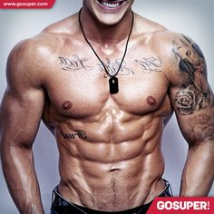 Find out the tricks to eliminate the excess of abdominal fat and have a well-defined six-pack! #gosuper #supplements #nutrition #sports #sixpack #abdominal #fat #muscle #gym #fitness