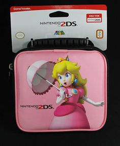 2ds peach pink pictures | New-Official-2DS-Nintendo-Super-Mario-Peach-Character-Game-Traveler ...