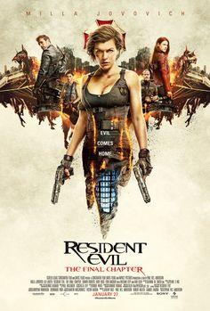 Resident Evil: The Final Chapter poster