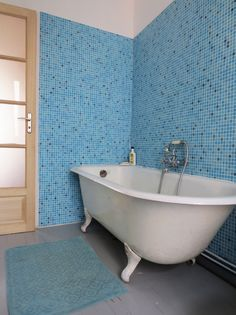 mosaique salle de bain hammam ou carrelage piscine. Black Bedroom Furniture Sets. Home Design Ideas