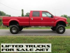 2001 Ford F-250 Diesel Super Duty Lariat Lifted Truck