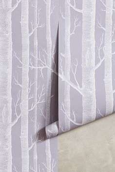 Woods Wallpaper #anthrofave #anthropologie.com