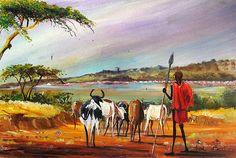 Lake Bogoria  by Albert Lizah of Kenya