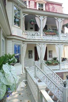 Une des maisons sur Hughes Street, Cape May