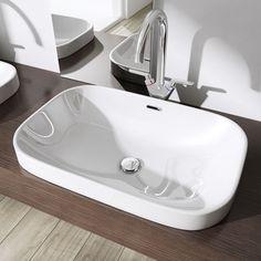Umywalka Ceramiczna Nablatowa Lng5082 61cm Sink, Bathtub, House Design, Ebay, Bathroom, Home Decor, Built Ins, Sink Tops, Standing Bath