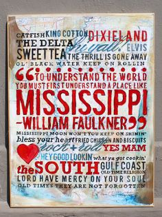 Love this so much! And the artist lives and works in Starkville, MS!#Repin By:Pinterest++ for iPad#