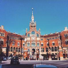 Hospital de Sant Pau #Barcelona