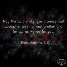 Love thy neighbor as thyself.