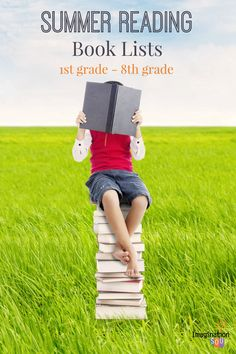 great resource -- summer reading lists for kids! Keep their minds activity with reading time this summer!