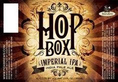 Cerveja Joseph James Hop Box Imperial IPA, estilo Imperial / Double IPA, produzida por Joseph James Brewing, Estados Unidos. 9.3% ABV de álcool.