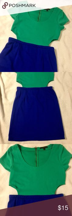 Urban Outfitters Lucca colorblock dress w/ cutouts Urban outfitters Lucca Couture colorblock dress with cutouts Lucca Couture Dresses Mini