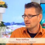 Peter Höffken beschwert sich im Namen von PeTA