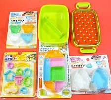 Bento lunch box set kids 330ml + a lot of accessories Pour enfants + accessoires