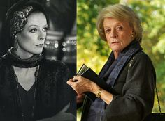 Maggie Smith - younger and older