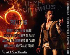 ESPECIAL SEMANA DE SAN VALENTÍN EN TIEMPO DE GITANOS!!! SOLO CON RESERVAS AL 4776 6143 Cena Show, Hollywood, Movie Posters, Movies, Valentines, Flamenco, Dance, Films, Film Poster