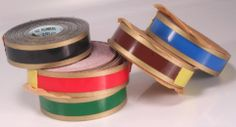 Awesome multi-coloured tape labels!