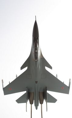 Su-30 inverted