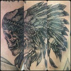 Last tattoo #skull #tattoo #blackandwhite #ink #native