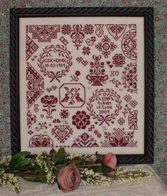 クロスステッチ > 図案・リーフレット > Rosewood Manor Designs > MY TOKEN OF LOVE