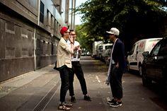 Kenzo Street Fashion Men's Street Style Paris