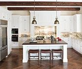 I think I may have this thing with white kitchens!