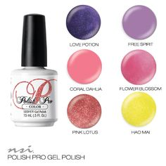 Gorgeous Sagittarius inspired Polish Pro swatches from NSI. Professional Gel Polish for your nails!