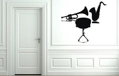Wall Vinyl Sticker Decals Mural Room Design Decor Art Mus...