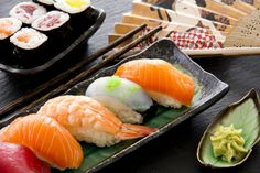 for an 'all you can eat' sushi buffet for 2 at Sushi Café, Battersea Park Sushi Buffet, Sushi Dishes, Food Dishes, Food Food, Eat Sushi, Sushi Cafe, Japanese Pickles, Japanese Food, Chinese Food