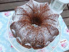 Pametas, dulces creaciones: BUNDT CAKE NARANJA Y CHOCOLATE BLANCO