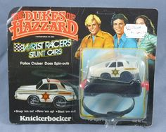Knickerbocker The Dukes of Hazzard Wrist by AnythingChristmas, $22.99    One of the best finds you will see on Etsy! This Toy is from the original Knickerbocker Toy Company, headquartered in Middlesex, NJ until its closure in the early 1980's. You won't find this anywhere so grab it now! Perfect for vintage toy collectors