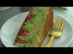 Learn how to make this Guyanese Christmas favorite step by step. Guyanese Sponge Cake is festive with its red and green marbling. Orange Sponge Cake, Sponge Cake Easy, Strawberry Sponge Cake, Sponge Cake Roll, Lemon Sponge Cake, Sponge Cake Recipes, Easy Cake Recipes, Guyanese Sponge Cake Recipe, Guyanese Recipes