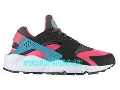 Nike Basket Huarache GS Pas Cher Chaussure Pour Femme Hyper Pink/Dusty…